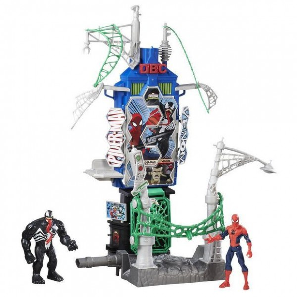 SPIDER-MAN SINISTER 6 WEB CITY SKYLINE